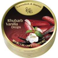 "Леденцы Cavendish & Harvey ""Rhubarb Vanilla""(Ревень-ваниль) 200 г."